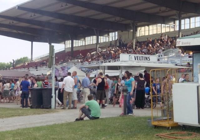 Deutsch-Russische Festtage Haupttribüne