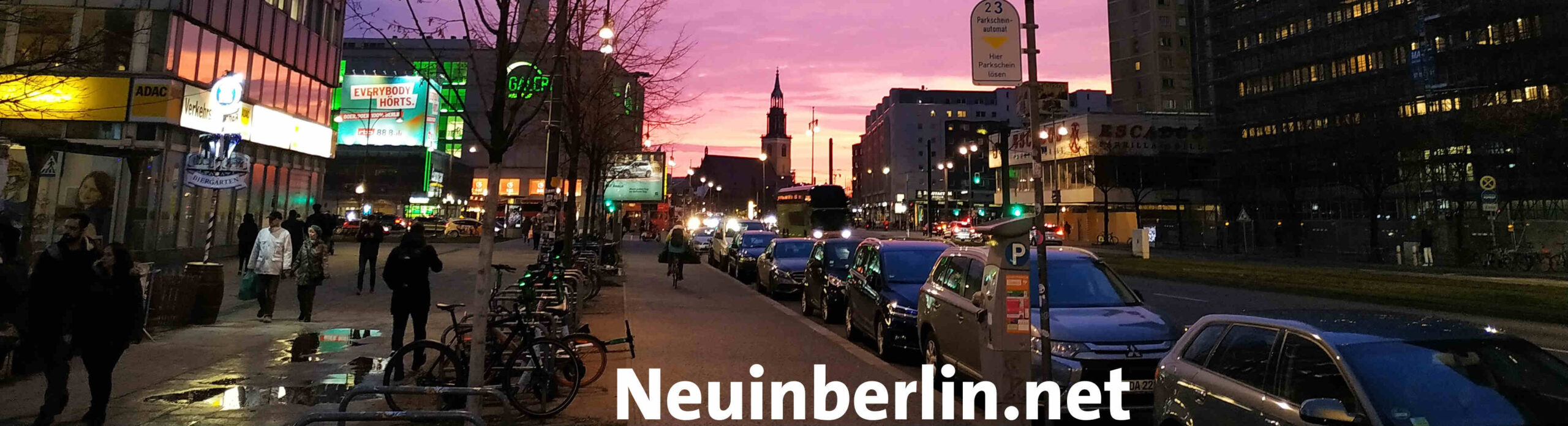 Neu in Berlin